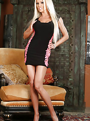 Diana Doll is a blonde babe that loves stripping and..
