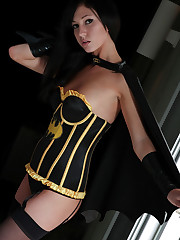 Catie Minx reveals herself as the Caped Masturbator aka..
