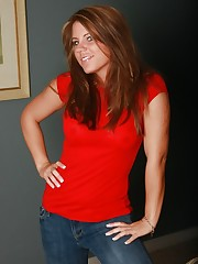 Blueyed Cass wearing pantyhose under her jeans.