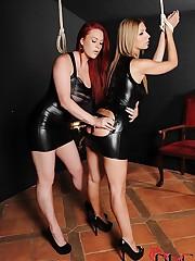Carol receives a very hot spanking