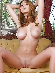 Shay Laren in pink bra and panties