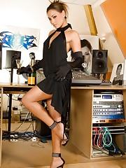 Aneta Smrhova elegantly naked ready for you