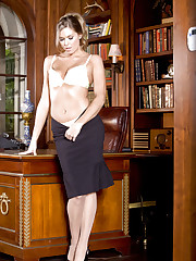 Adrienne Manning enjoys spending time at the office
