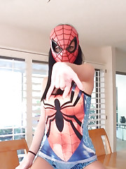 Here cums the Spiderman as interpreted by the naughty mind..
