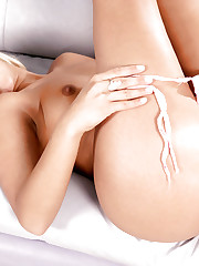 Hungarian blonde hottie undressing and showing her boobs and..