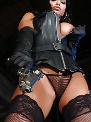 Big tits pornstar Marta in her sexy lingerie