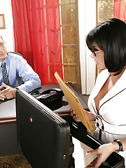 Tory Lane fucks in her office