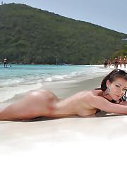 Beach honey has glowing skin