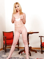 Sexy Kala Ferard shows you her legs
