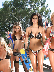 Exclusive Actiongirls Water Fight Photos
