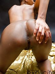 Camille, black panther debutante first time nude…