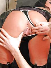 Big tits nun Victoria Brown doggy fucked