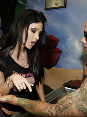 Jessica Jaymes gets more than just a tattoo