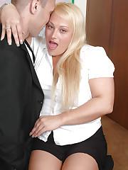 Big tits Nikita Devine gets doggy fucked