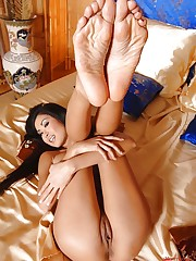 Danika shows her sexy legs & feet